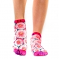 Preview: Wigglesteps One Size Damen - Sneaker - Style: Pink Flower